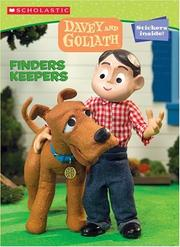 Cover of: Davey & Goliath Color & Activity #2: Finders Keepers (Davey & Goliath)