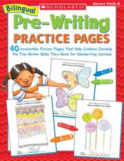 Cover of: Bilingual Pre-Writing Practice Pages