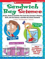 Cover of: Sandwich Bag Science