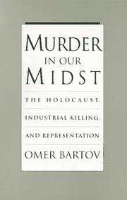 Cover of: Murder in our midst |