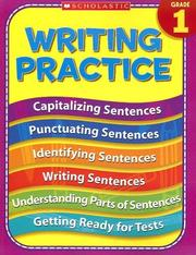 Cover of: 1st Grade Writing Practice | Terry Cooper
