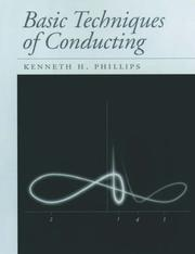 Cover of: Basic techniques of conducting