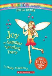 Cover of: Joy The Summer Vacation Fairy (Rainbow Magic)