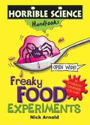 Cover of: Freaky Food Experiments