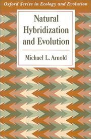 Cover of: Natural hybridization and evolution