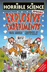 Cover of: Explosive Experiments Book and Card Pack (Horrible Science)