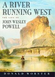 Cover of: A river running west by Donald Worster