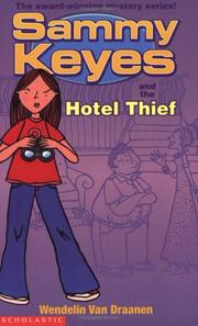 Cover of: Sammy Keyes and the Hotel Thief
