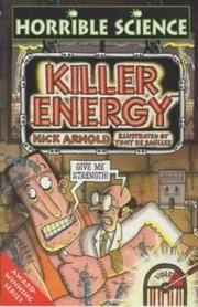 Cover of: Killer Energy (Horrible Science S.)
