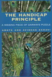 Cover of: The handicap principle