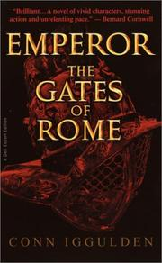 Cover of: Emperor the Gates of Rome: A Novel of Julius Caesar (The Emperor Series)