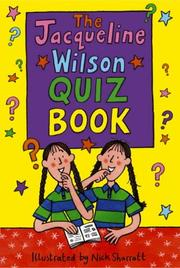 Cover of: Jacqueline Wilson Quiz Book