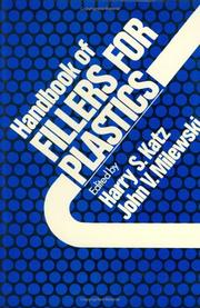 Cover of: Handbook of fillers for plastics |