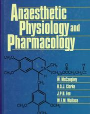 Cover of: Anaesthetic physiology and pharmacology |