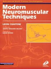 Cover of: Modern Neuromuscular Techniques