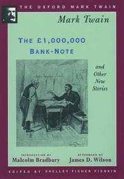 Cover of: The £1,000,000 bank-note and other new stories
