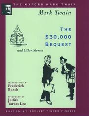 Cover of: The $30,000 bequest and other stories