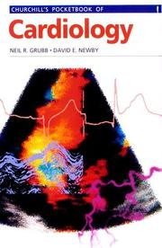 Cover of: Churchill's pocketbook of cardiology by Neil R. Grubb