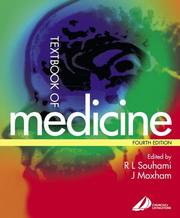 Cover of: Textbook of medicine