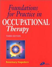 Cover of: Foundations for Practice in Occupational Therapy