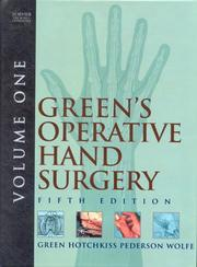 Greens Operative Hand Surgery e-dition