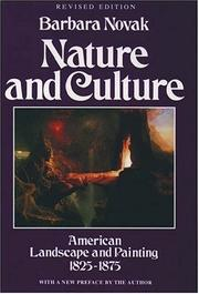 Cover of: Nature and culture