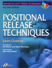 Cover of: Positional Release Techniques