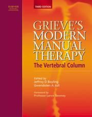 Cover of: Grieve's modern manual therapy by