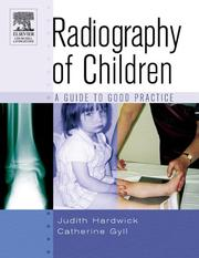Cover of: Radiography of children | Judith Hardwick