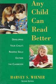 Cover of: Any child can read better