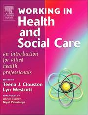 Cover of: Workers in health and social care |