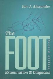 Cover of: The Foot