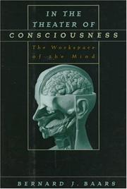 Cover of: In the theater of consciousness