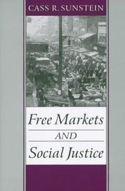 Cover of: Free markets and social justice