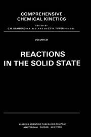 Cover of: Reactions in the solid state |