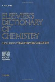 Cover of: Elsevier