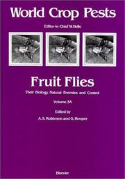 Cover of: Fruit Flies : Volume 3A | A. S. Robinson