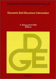 Cover of: Dynamic soil-structure interaction |