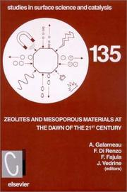 Cover of: Zeolites and Mesoporous Materials at the Dawn of the 21st Century (Studies in Surface Science and Catalysis) |