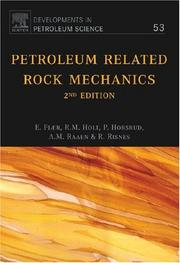 Cover of: Petroleum Related Rock Mechanics by Fjær, E.