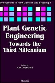 Cover of: Plant genetic engineering