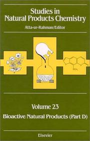Studies in Natural Product Chemistry by Atta-Ur-Rahman