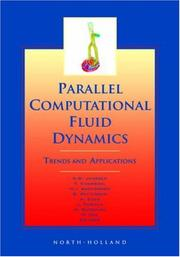 Cover of: Parallel Computational Fluid Dynamics 2000 | C.B. Jenssen