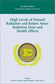 Cover of: High Levels of Natural Radiation and Radon Areas | M. Sohrabi