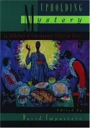 Cover of: Upholding Mystery | David Impastato