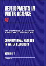 Cover of: Computational methods in water resources by