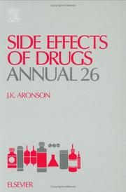 Side Effects of Drugs Annual 26, Volume 26