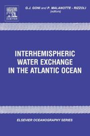 Cover of: Interhemispheric water exchange in the Atlantic Ocean |
