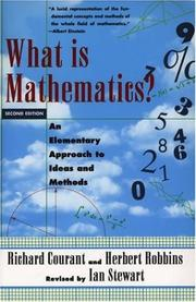 Cover of: What is mathematics?