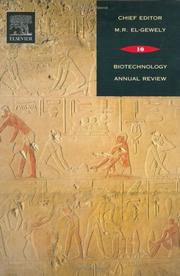 Cover of: Biotechnology Annual Review, Volume 10 | M. Raafat El-Gewely